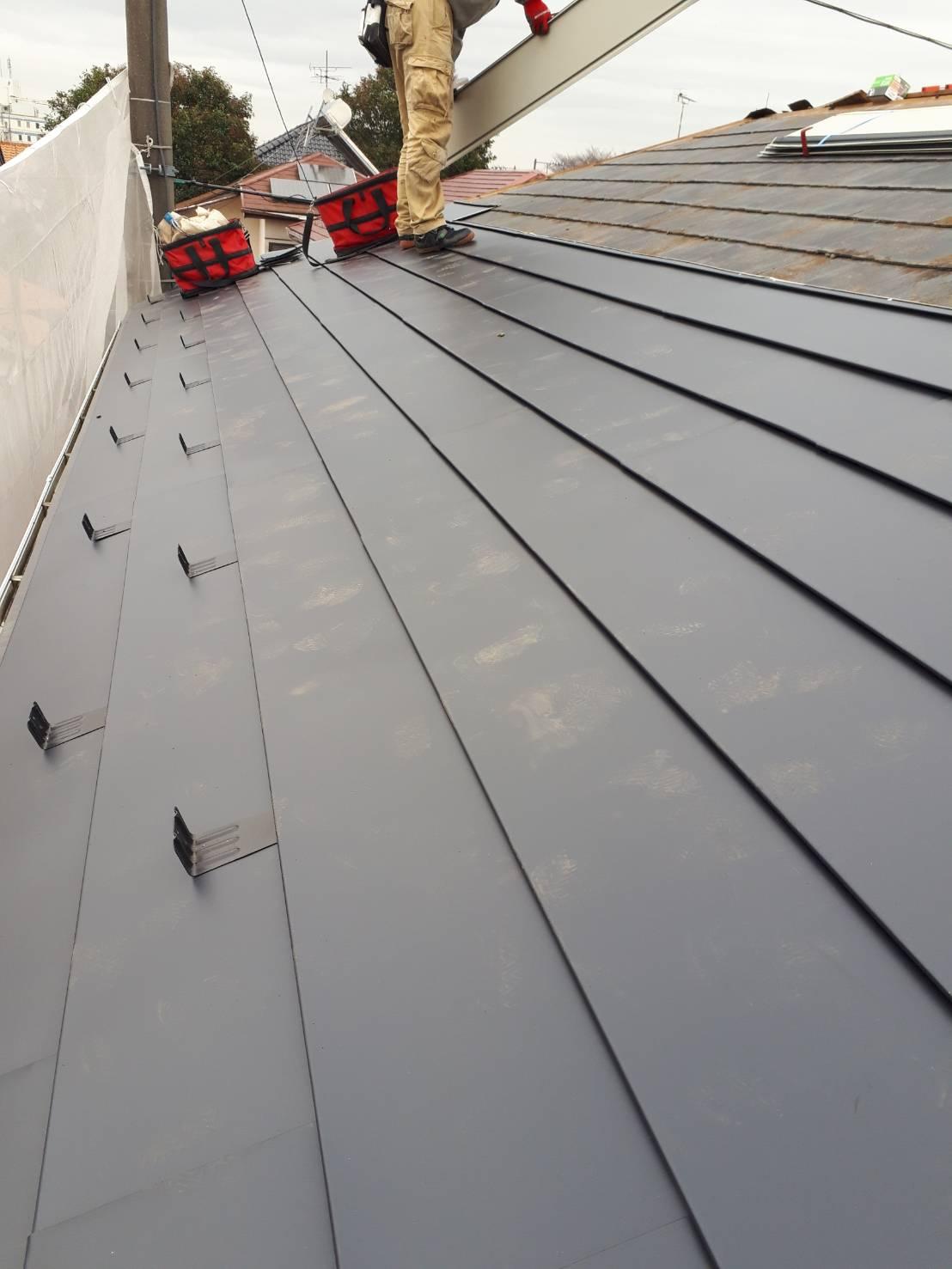 屋根増し葺工事