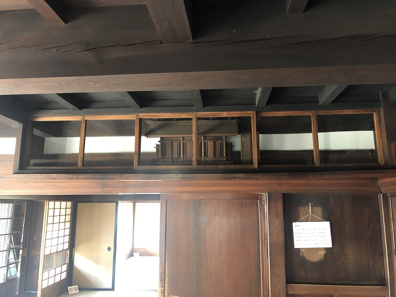 古民家神棚の修繕