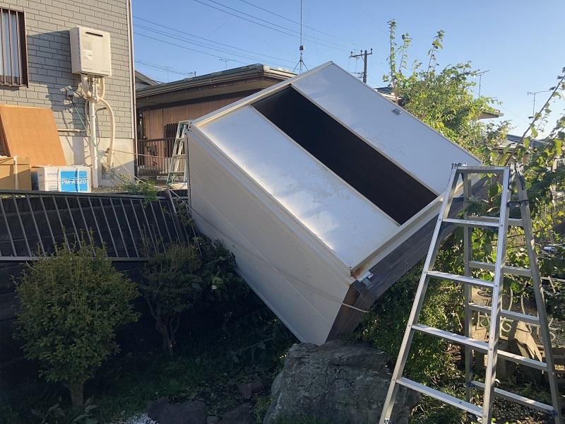 瑞穂町緊急台風被害
