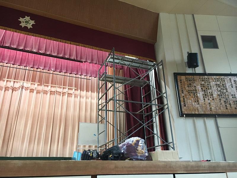 小学校舞台幕