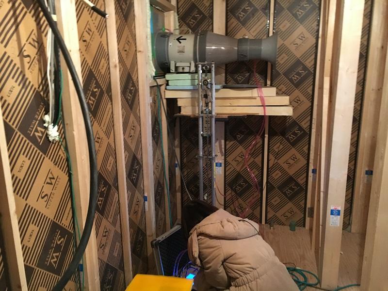 新築工事機密検査