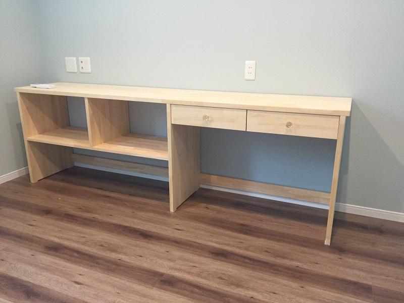 新築工事手作り家具