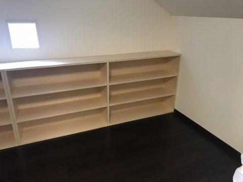 本棚の設置
